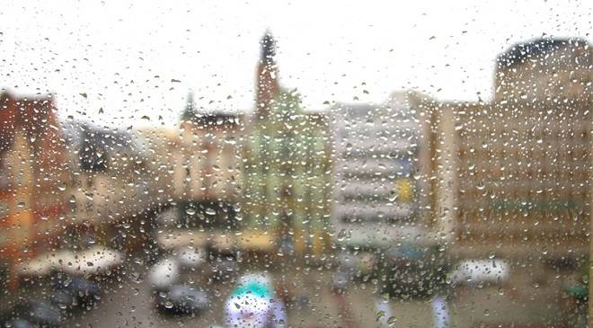 На Вроцлав насуваються зливи