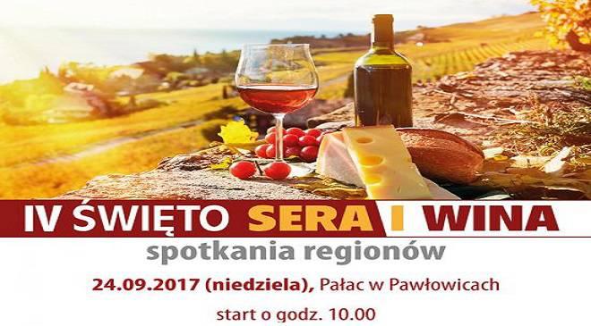 Приходь на фестиваль сиру та вина у палац в Павловіце