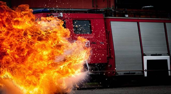Пожежа на вроцлавському вокзалі (+ФОТО)