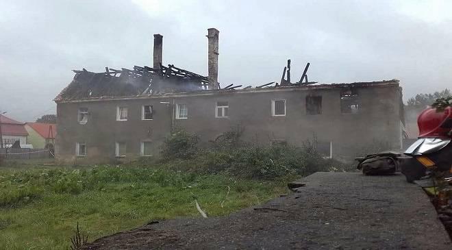 У пожежі при Легниці загинула жінка