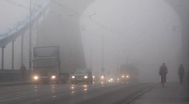 Вроцлав накрив туман