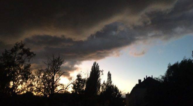 Ураган во Вроцлаве: сильный ветер, а в горах выпадет снег