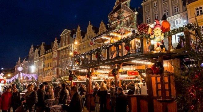 Вже за 2 тижні у Вроцлаві розпочнуть монтаж Різдвяного ярмарку