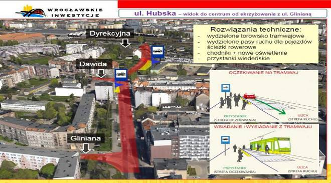 Цього тижня у Вроцлаві будуватимуть нову трамвайну колію