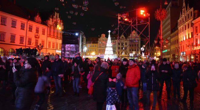 Новый год во Вроцлаве: концерт на Рынке (ФОТОГАЛЕРЕЯ+ТРАНСЛЯЦИЯ) (ОБНОВЛЕНО)