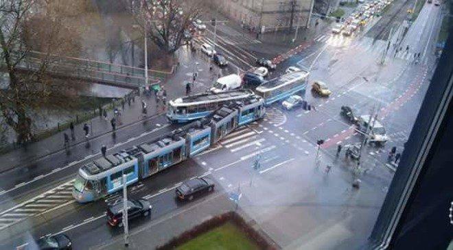 Зіткнення трамваїв у Вроцлаві: поранено 11 осіб
