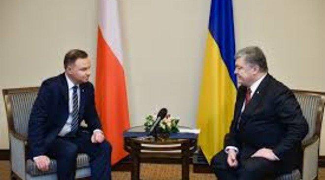 Президент Польщі Анджей Дуда з офіційним візитом в Україні