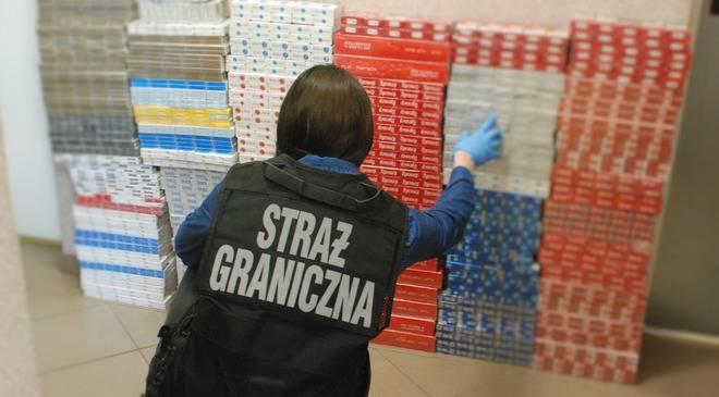 Прикордонники Нижньої Сілезії виявили контрафактних цигарок на 70 000 злотих