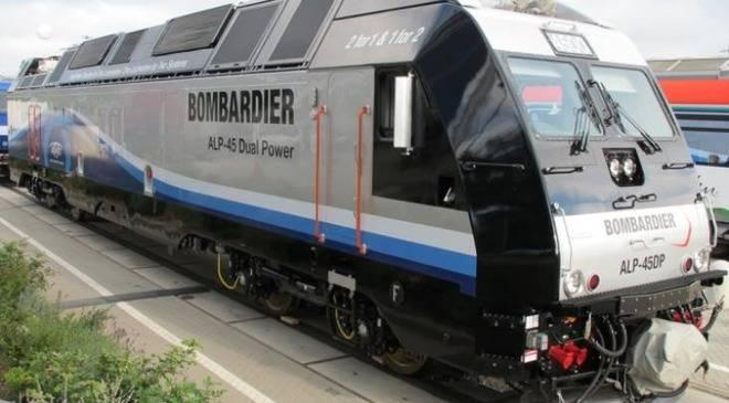 Вроцлавський завод «Бомбардьєр» виготовляє гібридні локомотиви для США