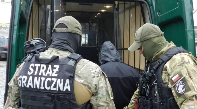 Прикордонники Нижньої Сілезії затримали 7 осіб, розшукуваних системою Інтерпол