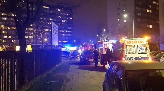 Вроцлав: пожежа  на вулиці Гайовицькій. 200 осіб евакуйовано