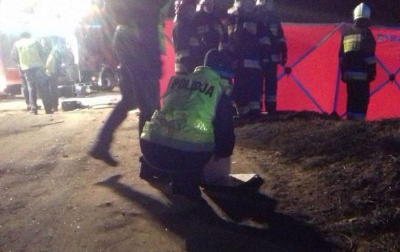 У Вроцлаві поліцейський  врятував чоловіка від вогню