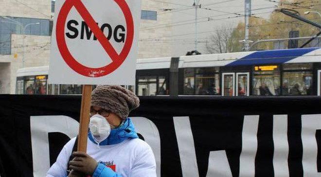 Смог у Вроцлаві: дуже погана якість повітря