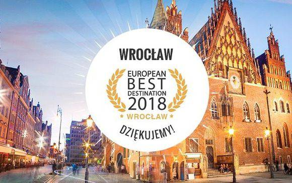 У Вроцлаві відбудеться офіційна передача звання European Best Destination 2018