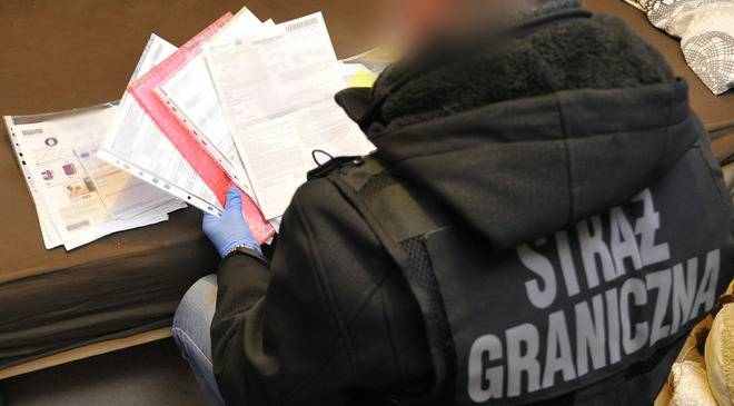 Прикордонники Нижньої Сілезії затримали українця, який фальсифікував дозволи для працевлаштування іноземців