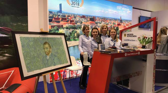 Вроцлав представлений на Міжнародній туристичній виставці