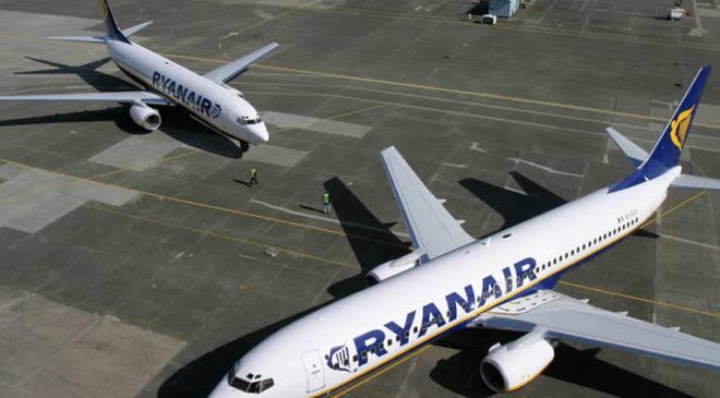 Авіарейси Ryanair з України майже повністю дублюватимуть напрямки Wizz Air
