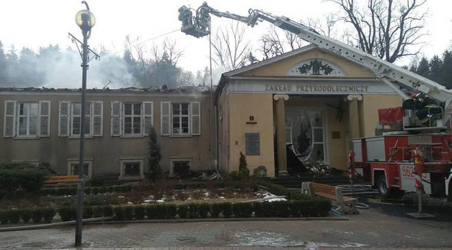 Нижня Сілезія:  повністю згорів Інститут біології та медицини