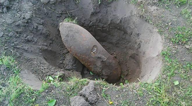 У Вроцлаві знайшли 100-кілограмову авіаційну бомбу минулих війн
