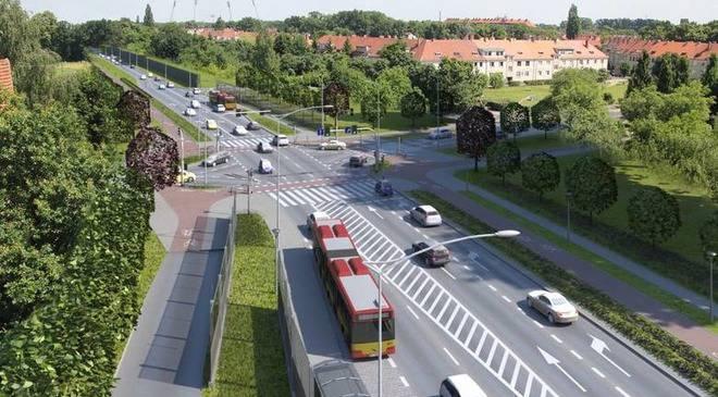 Вроцлав: початок будівництва авеню Великого острова та Східного мосту. Місто вибрало підрядника