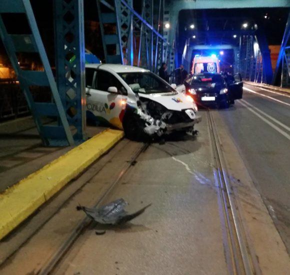 Во Вроцлаве пьяный украинец за рулем «Возиллы» врезался в мост  (+ФОТО)