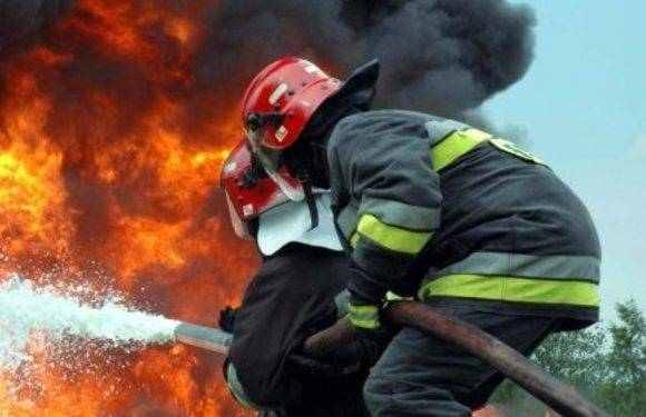 Нижня Сілезія: у Костриці горіла фабрика з переробки відходів