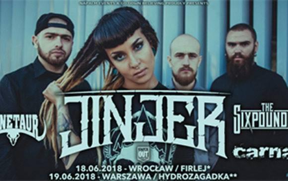 JINJER — українських гурт, який так полюбили за кордоном, виступить у Польщі