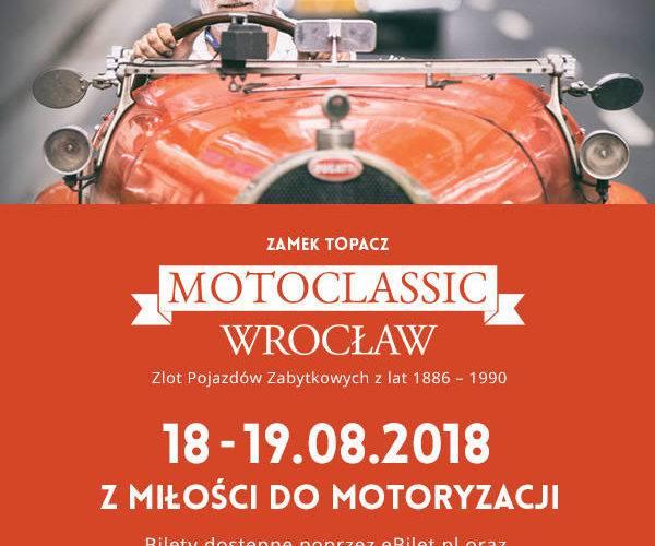 «З любов'ю до автомобілів»: у замку Топач стартує MotoClassic Wroclaw 2018