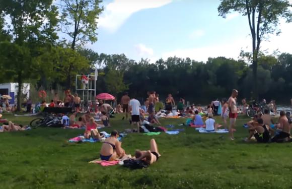 Семейный отдых на озере Вроцлава (ВИДЕОБЛОГ)