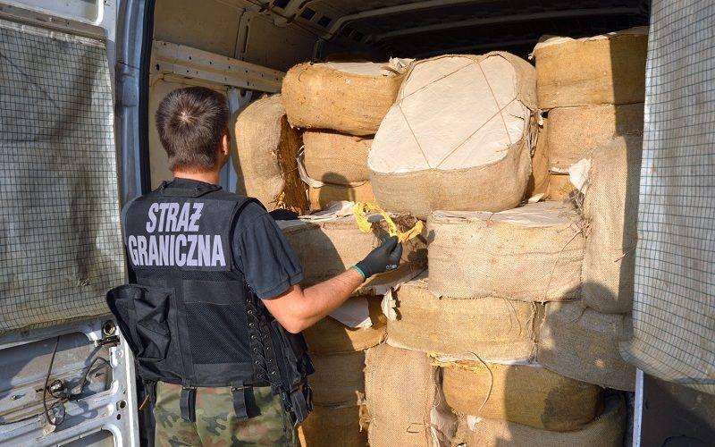 Нижня Сілезія: затримано велику партію тютюну загальною вартістю у понад один мільйон злотих