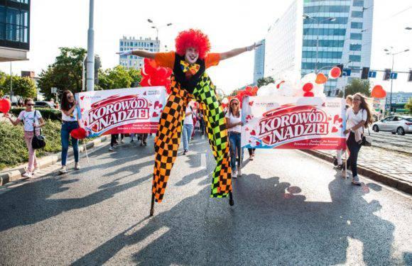 Вроцлав: містом пройде Кольоровий Парад Надії. Учасники складуть велике серце