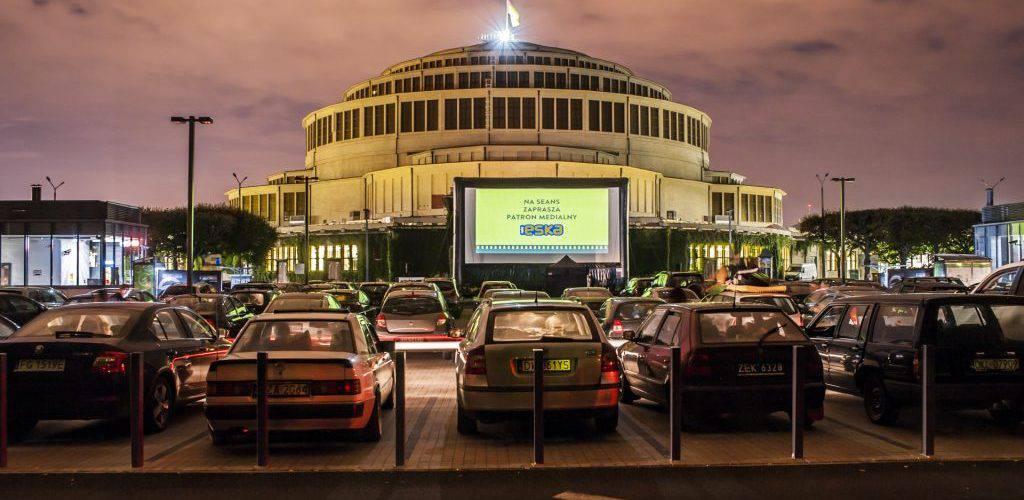 Вроцлав: безкоштовне кіно під відкритим небом коло HALI STULECIA