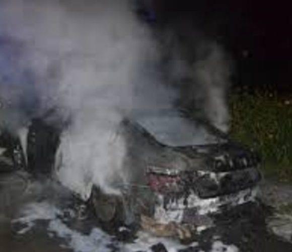 Нижня Сілезія: п'яний водій ледь вибрався з палаючого автомобіля