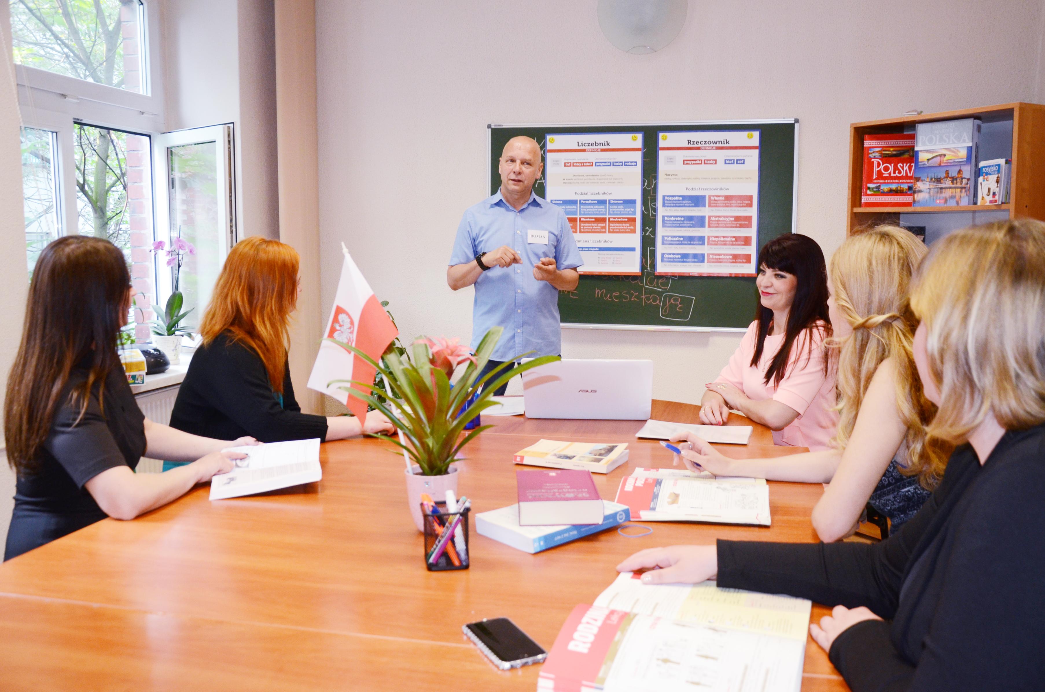 Вот так проходит урок в школе инстранных языков Polskikraj. Приглашем на пробное занятие: +48 799 922 845. Звоните!