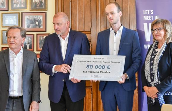 Fundacja Ukraina підготувала звіт про витрати з Німецької Національної Нагороди