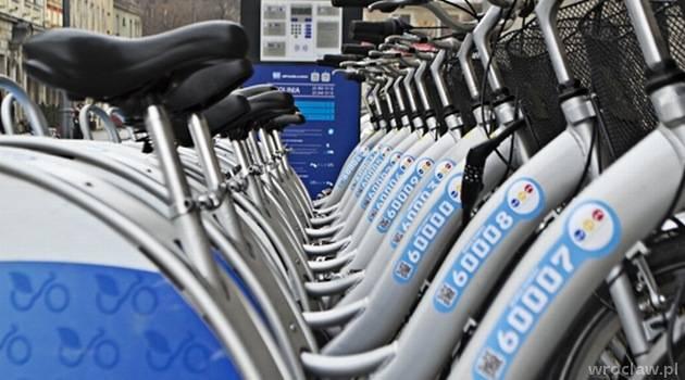 У Вроцлаві добігає кінця 8 сезон муніципального прокату велосипедів
