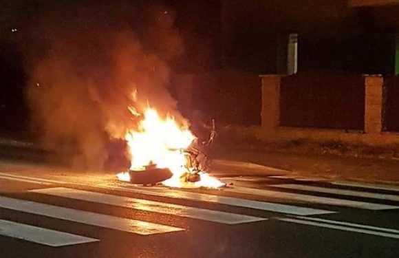 В Польщі підлітки-мотоциклісти протаранили один одного