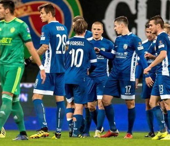 Шлёнск вылетает из кубка Польши на стадии 1\8 финала