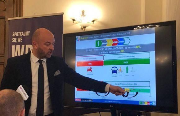 Яцек Сутрик представил результаты исследования организации движения во Вроцлаве и агломерациях