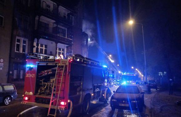 Ночной пожар во Вроцлаве: погибла женщина