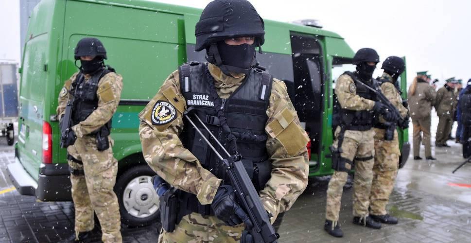 Польські прикордонники затримали 22 українців, що нелегально перебували на території Польщі