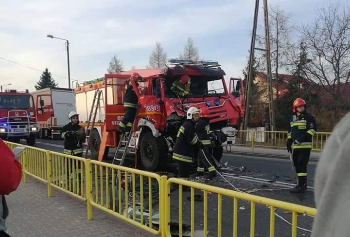 Зіткнення двох пожежних машин в Любуському воєводстві: четверо потерпілих