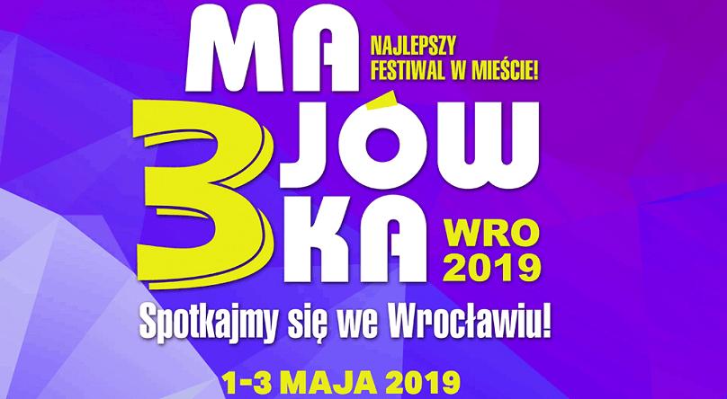 Фестиваль 3-Majówka 2019 у Вроцлаві  [Програма, квитки]