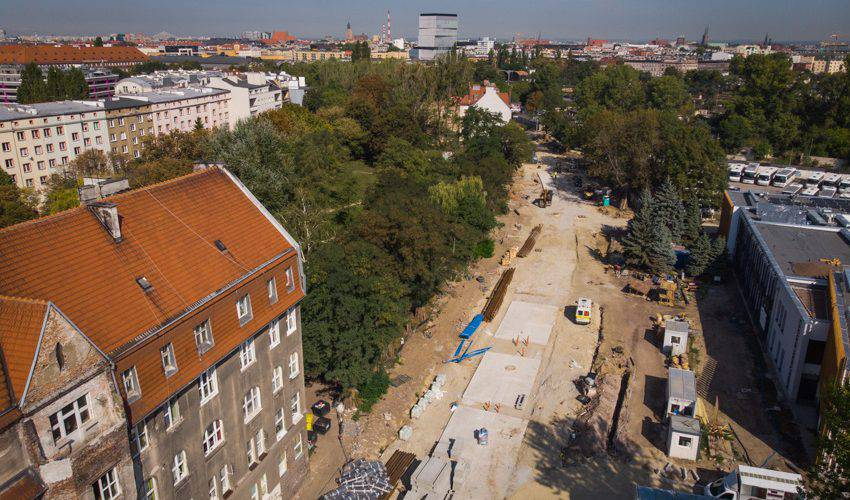 Вроцлав: нарешті збудують трамвайне покриття на вулиці  Губській