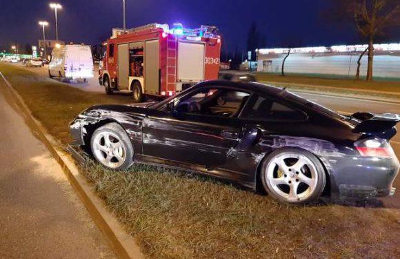 Поляк розбив Audi та  Porsche через розмови по телефону за кермом [+ФОТО]