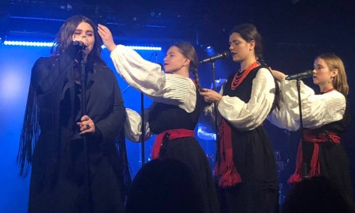 Во Вроцлаве прошел концерт группы KAZKA