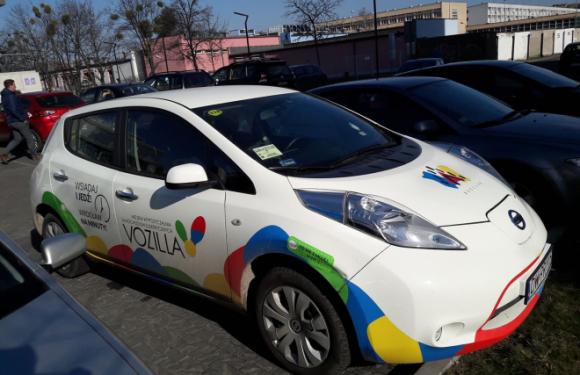 У Вроцлаві подорожчає оренда електричних автомобілів VOZILLA