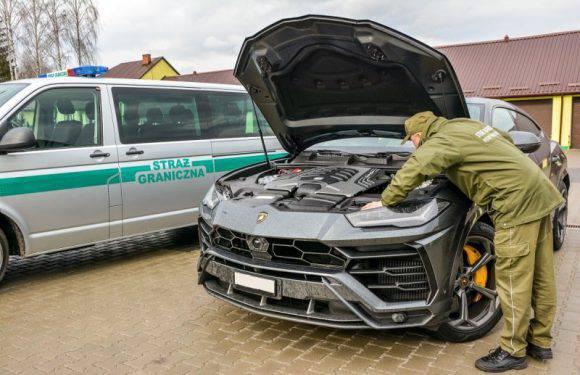 Українець намагався вивезти з Польщі Lamborghini за 10 мільйонів гривень