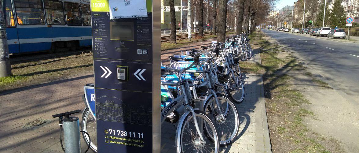 Вроцлав готується до старту системи велопрокату: відтепер українською