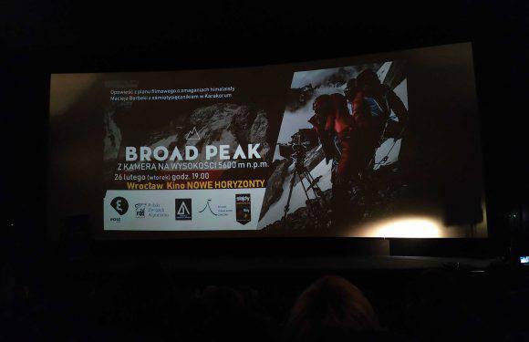 Во Вроцлаве режиссер Лешек Давид рассказал, как снимался фильм на высоте 5600 метров — «Broad Peack»
